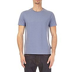 Burton - 3 pack ecru, blueberry and olive green crew neck t-shirt
