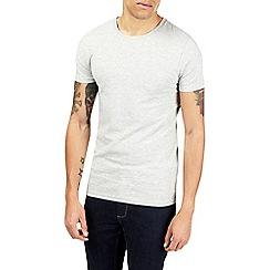 Burton - Grey muscle fit t-shirt