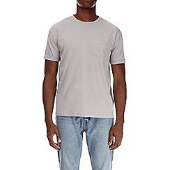 Burton - Ceramic grey boxy fit t-shirt