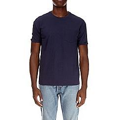 Burton - Navy boxy fit t-shirt