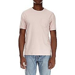 Burton - Pastel pink boxy fit t-shirt