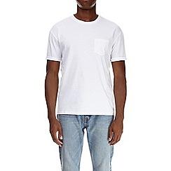 Burton - White boxy fit t-shirt