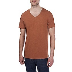 Burton - Rust v-neck t-shirt