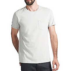 Burton - Light grey roll sleeve t-shirt