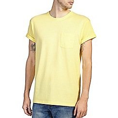 Burton - Yellow roll sleeve t-shirt