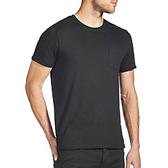 Burton - Black roll sleeve t-shirt