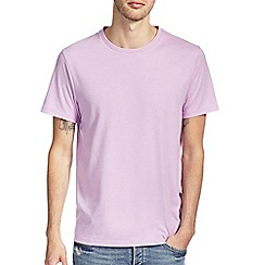 Burton - Violet marl crew neck t-shirt