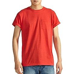 Burton - Red marl crew t-shirt