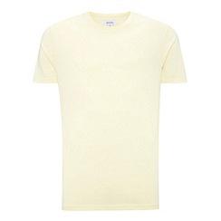 Burton - Lemon marl crew neck t-shirt