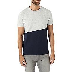 Burton - Grey and navy t-shirt