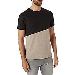 Burton - Stone and black t-shirt