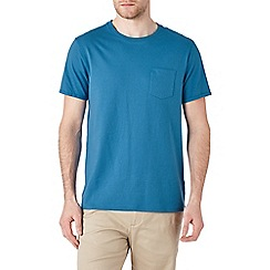 Burton - Blue roll sleeve t-shirt