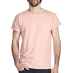 Burton - Peach roll sleeve t-shirt