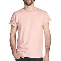 Burton - Peach roll sleeve t-shirt