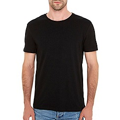 Burton - Black basic crew neck t-shirt