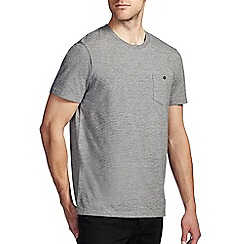Burton - Grey feeder stripe t-shirt