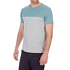 Burton - Mint and grey cut and sew t-shirt