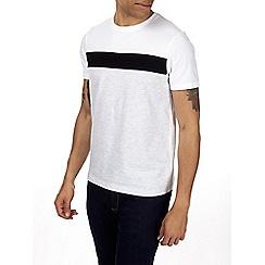 Burton - Grey panel t-shirt