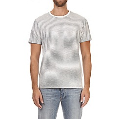 Burton - Ecru stripe t-shirt