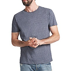 Burton - Blue grindle raw edge t-shirt