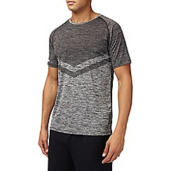 Burton - Sports grey chevron t-shirt