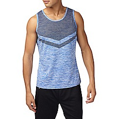 Burton - Sports blue chevron vest