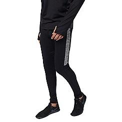 Burton - Sports black contrast panel leggings