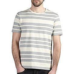 Burton - Grey herringbone stripe t-shirt