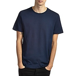 Burton - Navy basic crew neck t-shirt*