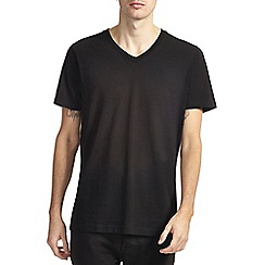 Burton - Black v-neck t-shirt*