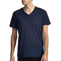 Burton - Navy v-neck basic t-shirt*