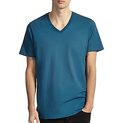 Burton - Petrol basic v-neck t-shirt*