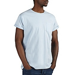 Burton - Sky blue roll sleeve t-shirt*