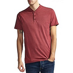 Burton - Red marl baseball t-shirt