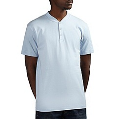 Burton - Sky blue baseball t-shirt
