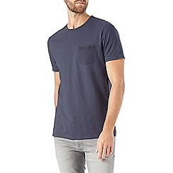 Burton - Blue garment dyed t-shirt