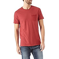 Burton - Red garment dyed t-shirt