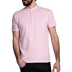Burton - Pink grandad t-shirt*