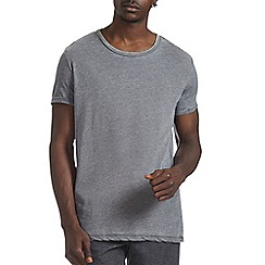 Burton - Grey burnout crew neck t-shirt