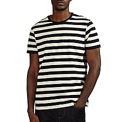 Burton - Black block striped t-shirt