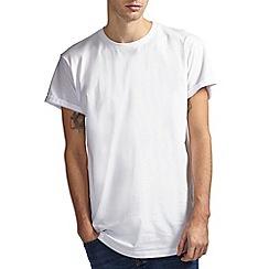 Burton - White longline t-shirt