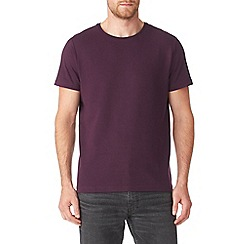 Burton - Purple textured ribbed t-shirt