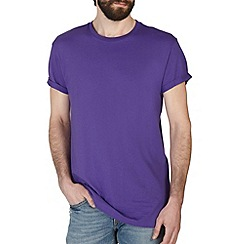 Burton - Purple longerline t-shirt