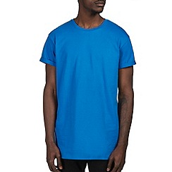 Burton - Bright blue longline t-shirt