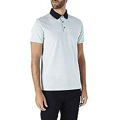 Burton - Mint ditsy print polo shirt