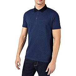 Burton - Cobalt jaquard polo shirt