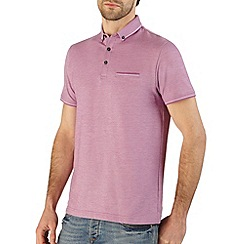 Burton - Purple pique polo shirt