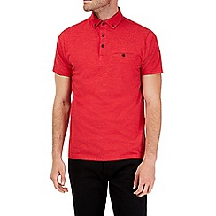 Burton - Red polo shirt