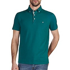 Burton - Green casual polo shirt
