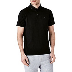 Burton - Black polo shirt